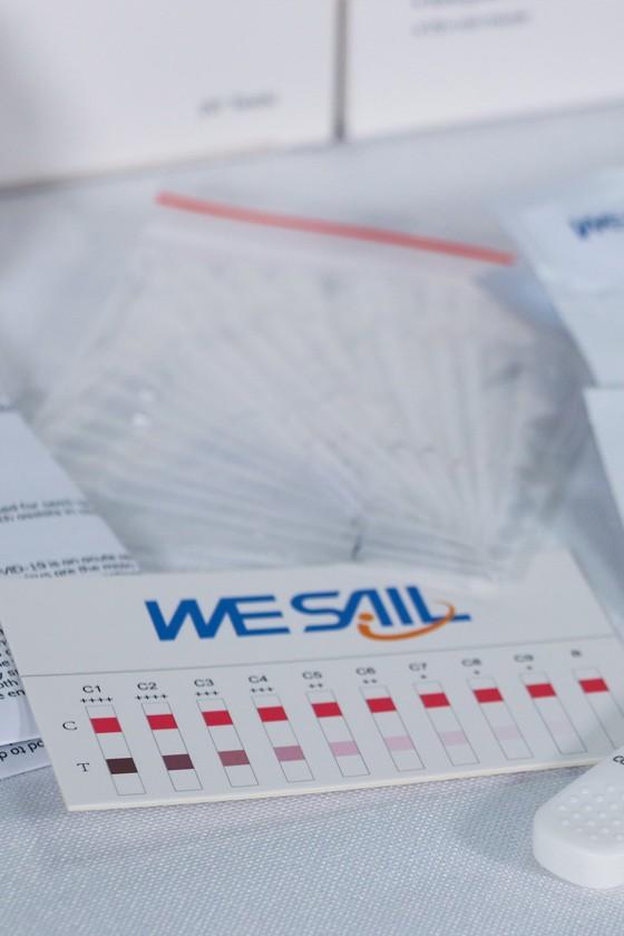 WESAIL SARS-CoV-2 készlet - SARS-CoV-2 teszt - 5 x 1 db - Antitest szintmérő (NAb)