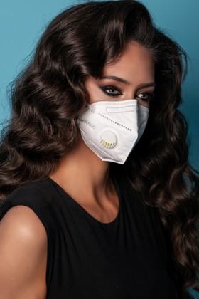 Legal Beauty KN95/FFP2 7 rétegű maszk - szelepes - fehér - 10 db