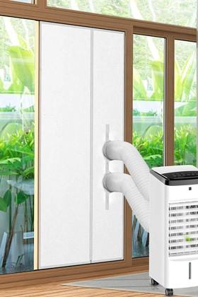 Ladyson ajtószigetelő függöny mobil klímákhoz - 90 x 210 cm - 1 db