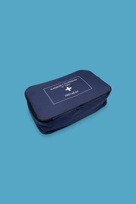 Elsősegély felszerelés, C-típus (gyöngyvászon táska) - buszokhoz, veszélyes anyagokat szállító járművekhez - C (textil táska)