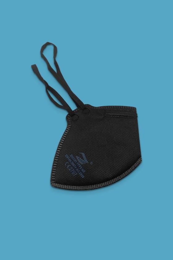 Zmask prémium FFP2 - FFP2 maszk - 10 db - Fekete - Szelep nélküli