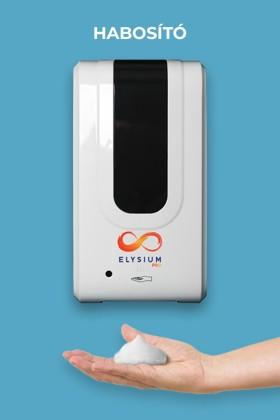 Elysium Pro professzionális, érintésmentes, 1200 ml-es adagoló - Habosító szappan - Állvány nélkül - Fehér