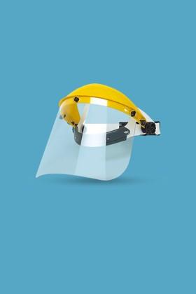 Singer EVA805 arcvédő látómező + homlokvédő - Sárga - 1 db